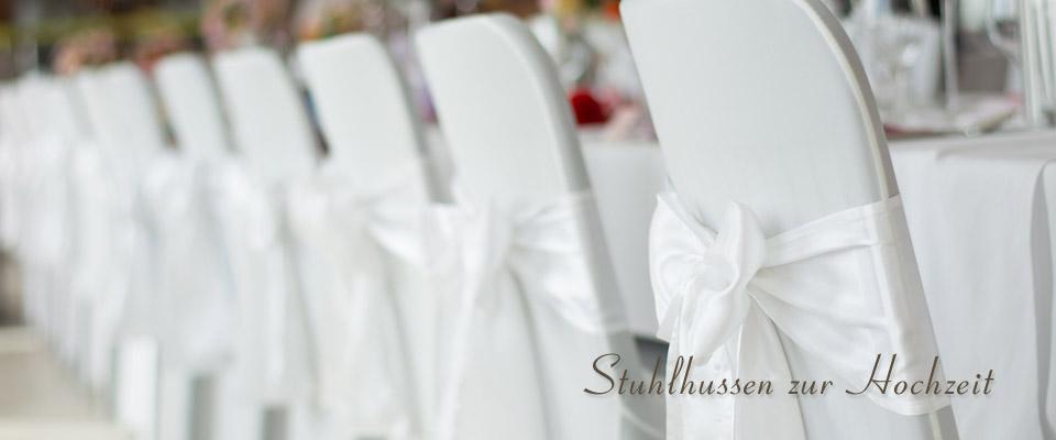 Stuhlhussen Zur Hochzeit Mieten